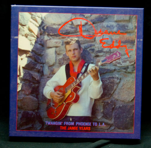 "CD Box Duane Eddy ""Twangin' From Phoenix To L.A. 5 CD`s"